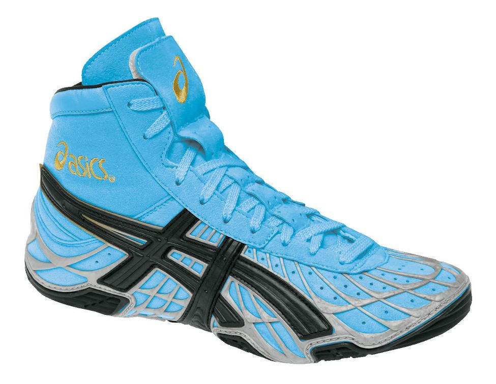 Mens ASICS Dan Gable Ultimate Wrestling Shoe at Road Runner Sports