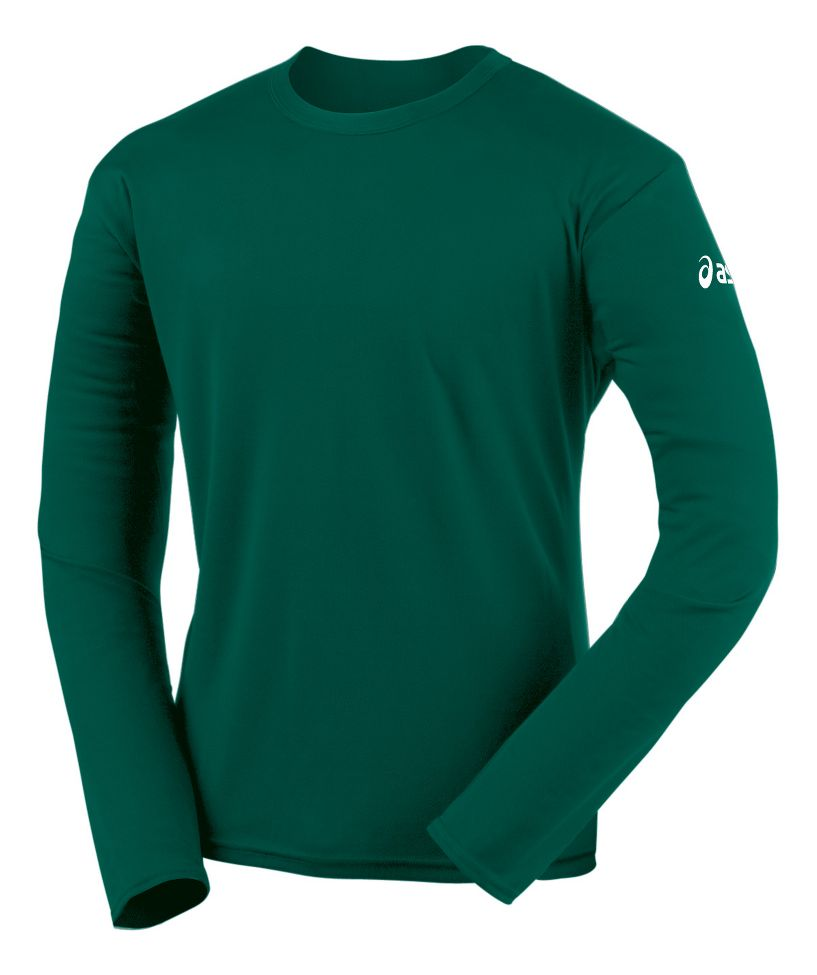 asics mens long sleeve shirts