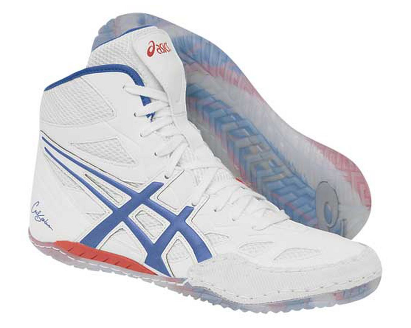 Mens ASICS Cael V2.0 Wrestling Shoe at Road Runner Sports