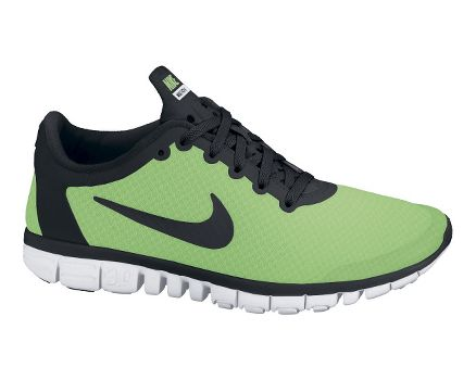 Nike Free 3.0 V5 Mens Running Shoes Black Summit White Volt