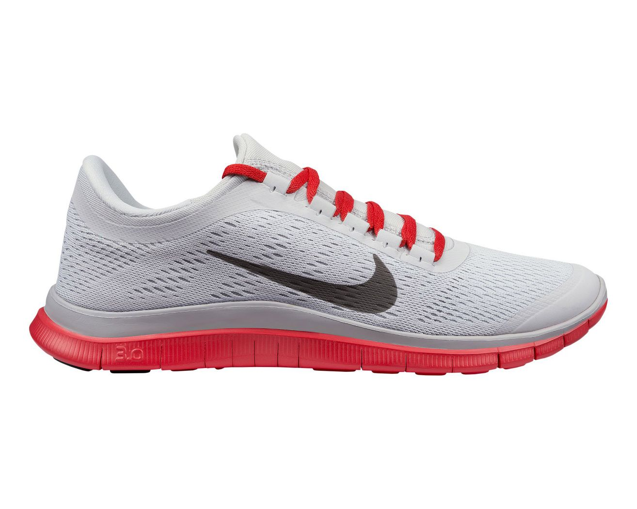 Nike Free Run 3.0 V5 Womens Running Shoes Grey / White / Orange
