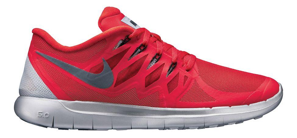 Nike Mens Libre De 5,0 Éclair Rouge Chaussure De Course Sous