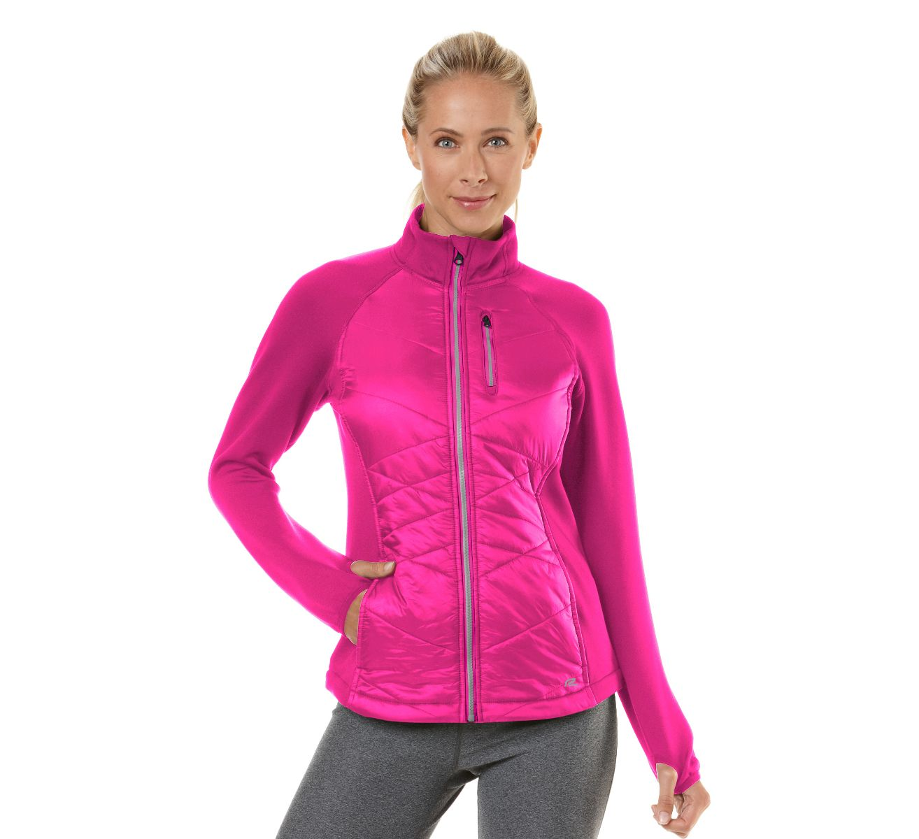 Womens Road Runner Sports Power Puff Jacket Outerwear Jackets at ...