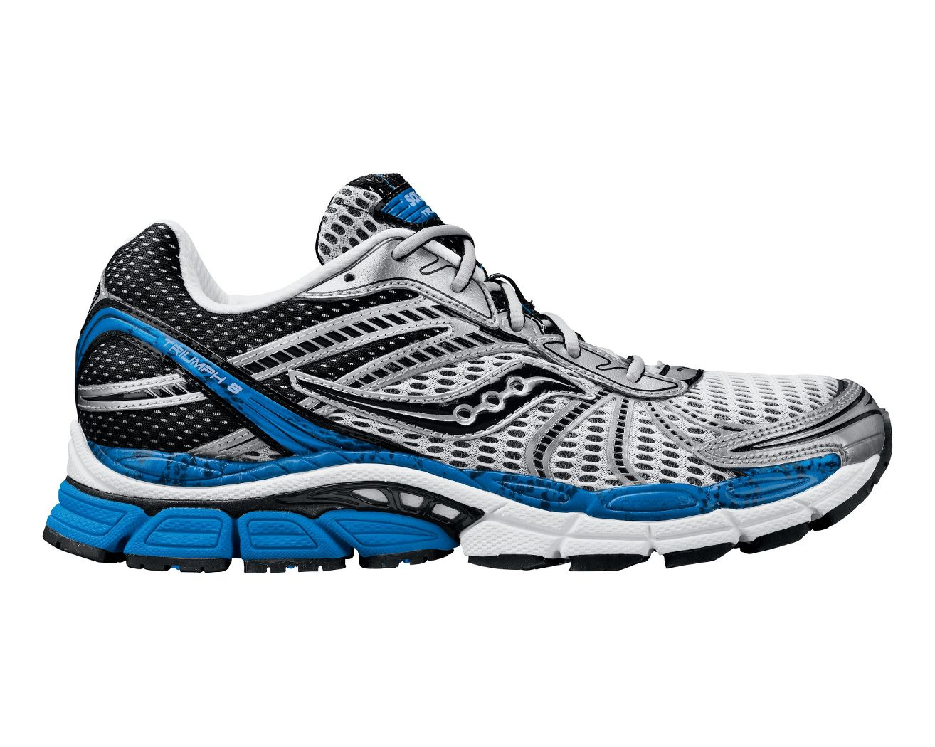 mens saucony progrid triumph 8 running shoe at road runner sports