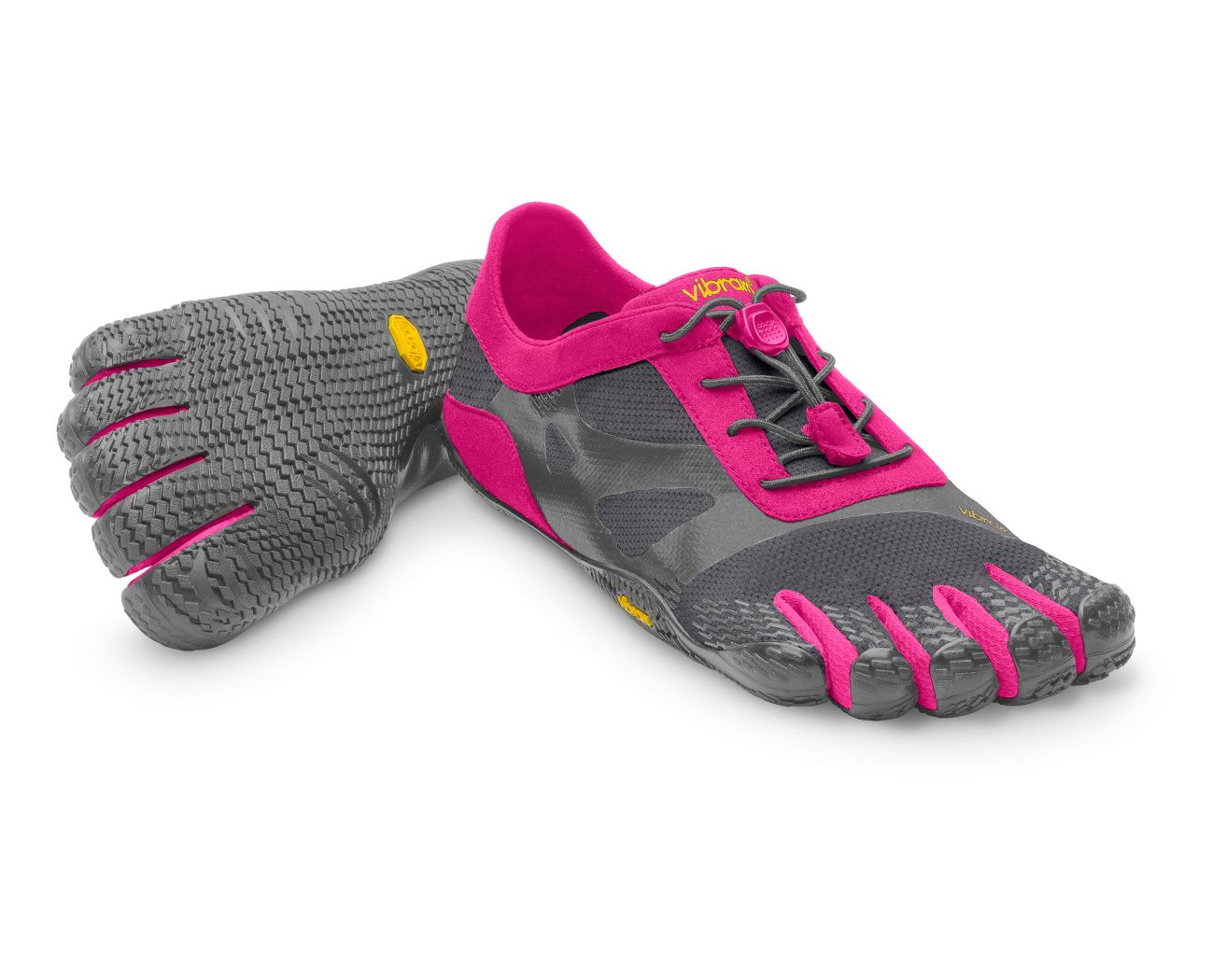 buy online cad2a 13fe6 ... pink 16w0703  womens vibram fivefingers kso evo running shoe at road  runner sports ...