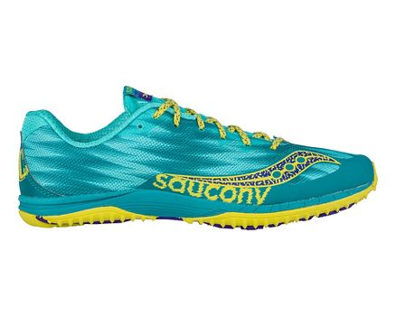 New Arrivals Womens Athletic Shoes - Saucony Kilkenny Xc Flat Teal/Yellow