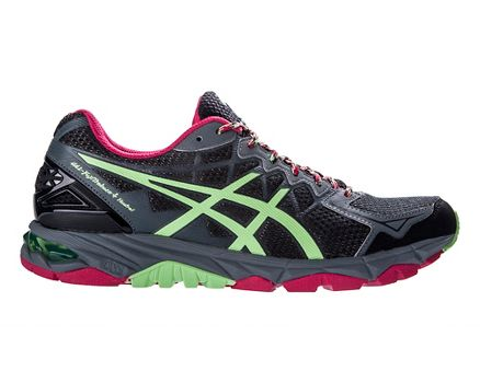 Womens ASICS GEL-FujiTrabuco 4 Neutral Trail Running Shoe at Road Runner  Sports