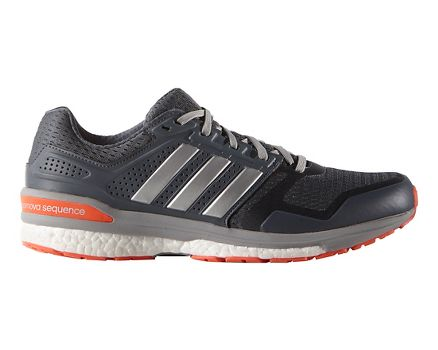 Running Adidas Supernova Sequence 8 Boost - Silver/Red
