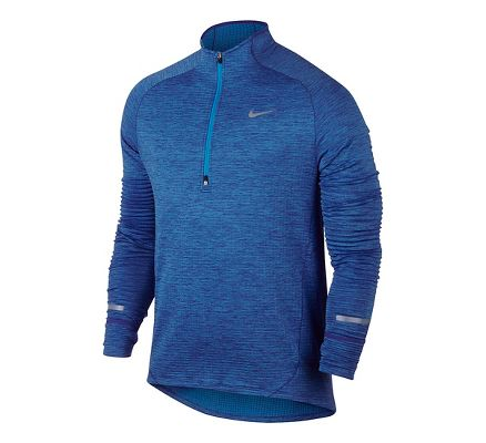 Mens Nike Element Sphere Long Sleeve 1/2 Zip & Hoodies Technical Tops at  Road Runner Sports