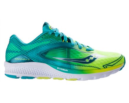 Women's Athletic Shoes/saucony teal kinvara 7 citron ue2w29a8