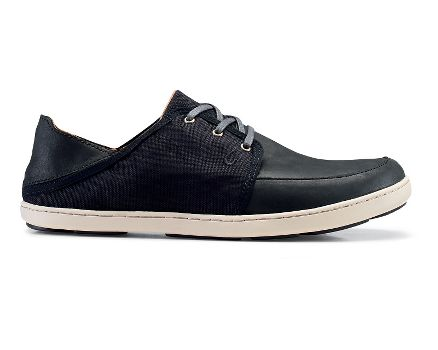 Mens OluKai Nohea Lace Leather Casual Shoe. Mouse over to zoom