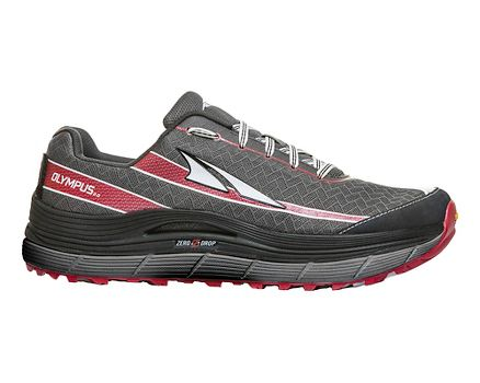 Altra Trail Running Olympus 2.0 - Charcoal/Red