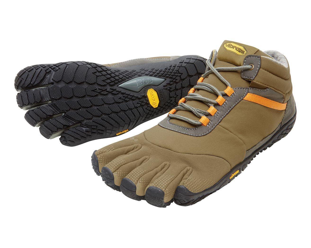 Mens Vibram FiveFingers Trek Ascent Insulated Trail Running Shoe at Road Runner Sports