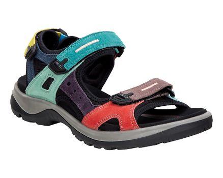 Cheap ECCO Women's Anniversary Yucatan Sport Sandals Multicolor