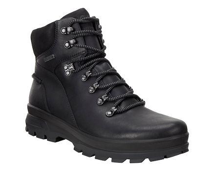 Ecco Sport Rugged Track GTX High Mens Black/Black Q319790GN Boots