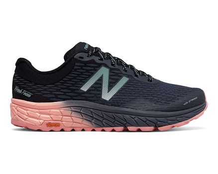 Offer Sale New Balance HierroV2 Fresh Foam Trail Running Shoes Pink/Black Women