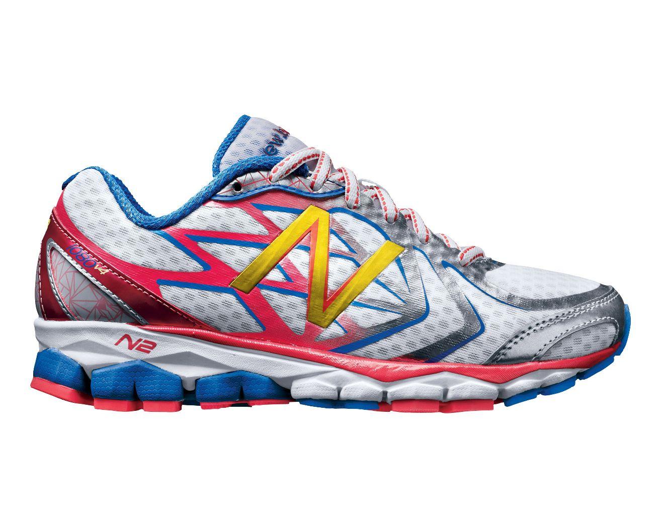 New Balance 1080V4 New Balance- White running shoes