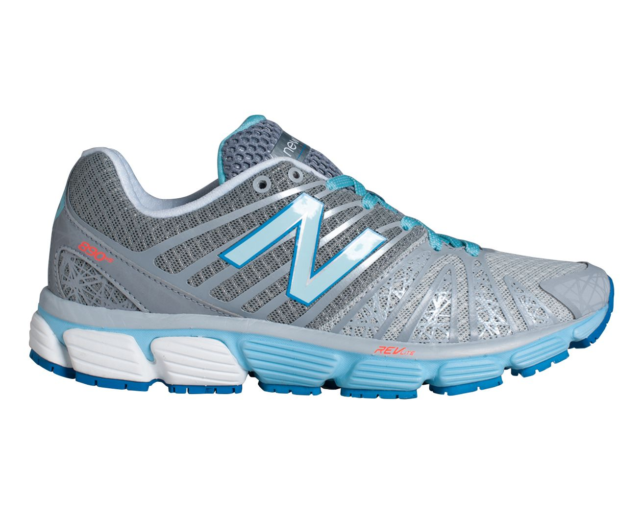 New Balance 890 V5 - Women's - Running - Shoes - Silver/Blue