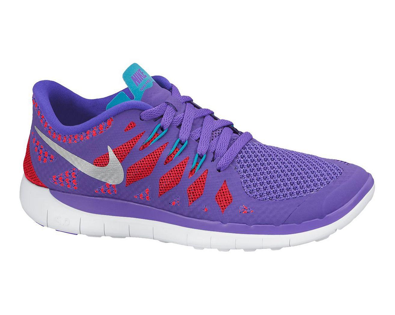 Kids Nike Free 5.0 Running Shoe at Road Runner Sports