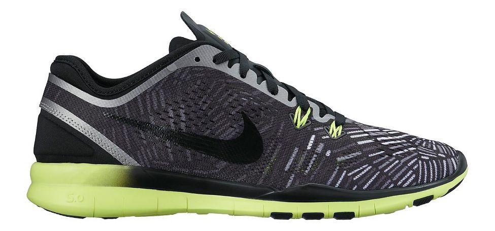 Nike Free 5.0 Tr Adapter 5 Formateurs D'impression En Noir Et Blanc Club  moins nike