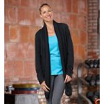 Womens Road Runner Sports Cross Your Heart Cardi Long Sleeve Non-Technical Tops