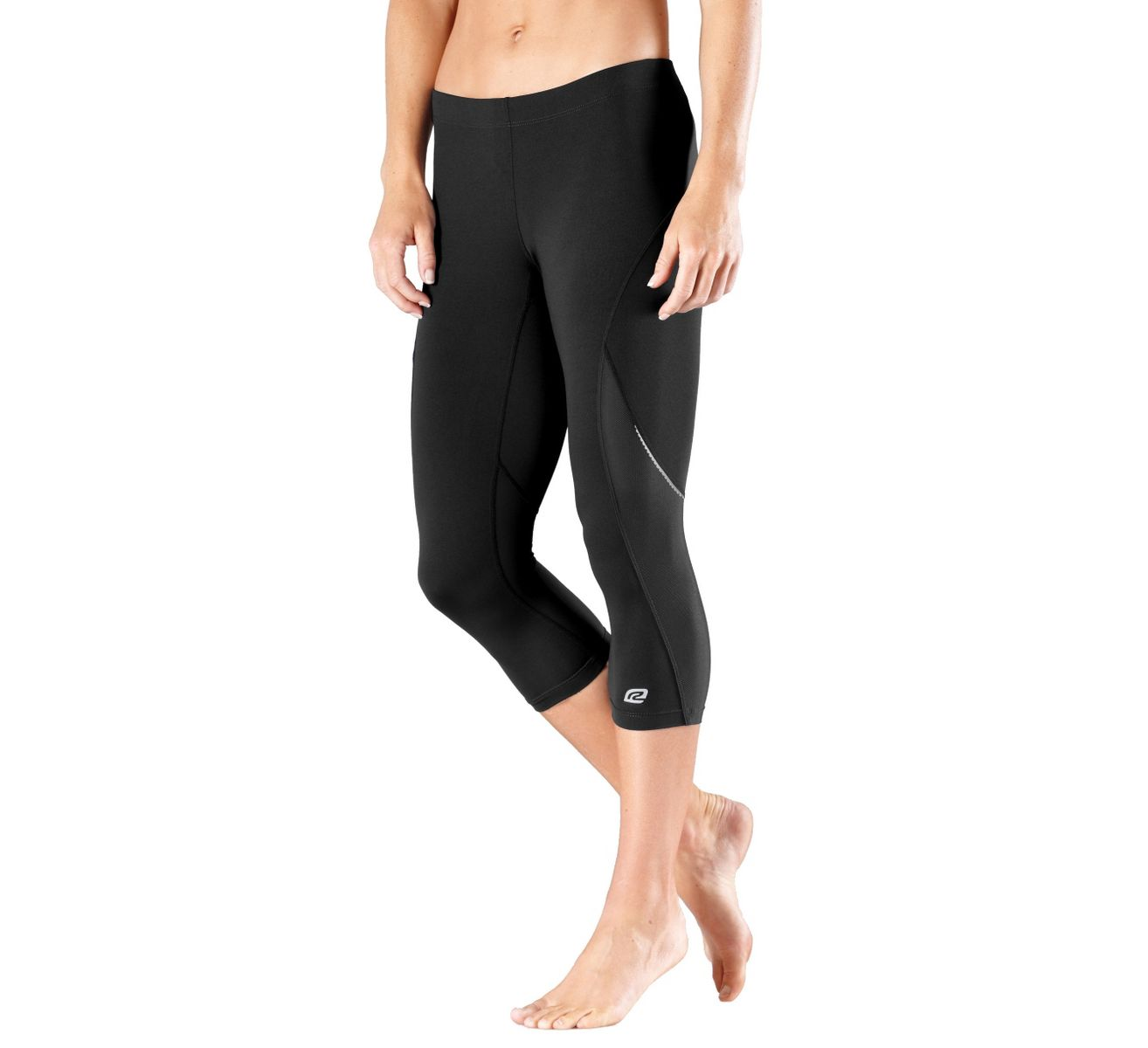 Womens Road Runner Sports High-Speed Compression Capri Tights at ...